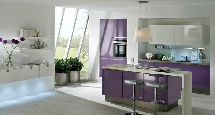 Cuisine cuisine moderne violet brilland mac cuisines for Cuisine moderne violet