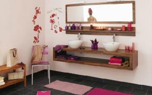 Salle de bain Lamette noyer
